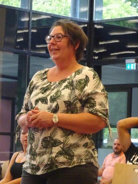 Sabine Bolsinger berichtet über den Fanfarenzug