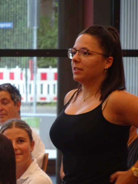 Jessica Enzinger berichtet von der Blauen Garde
