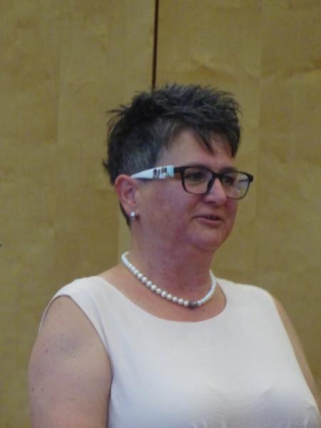 Michaela Steckbauer für den Zunftrat